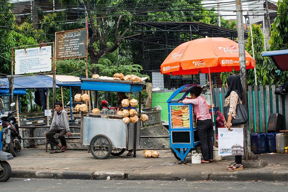 Garküchen von Jakarta