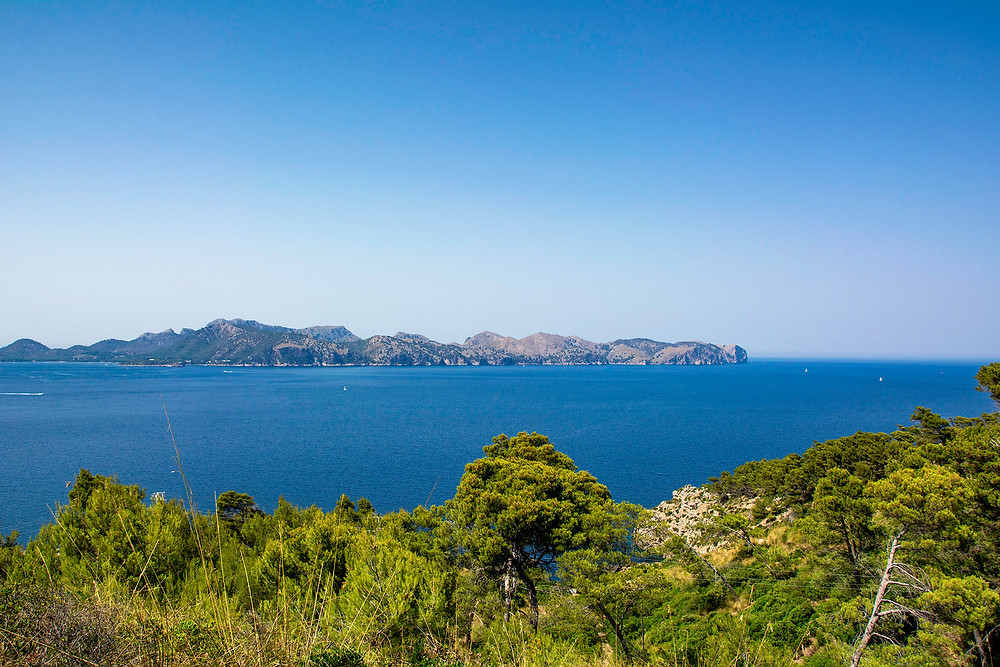 Blick auf die Halbinsel Formentor