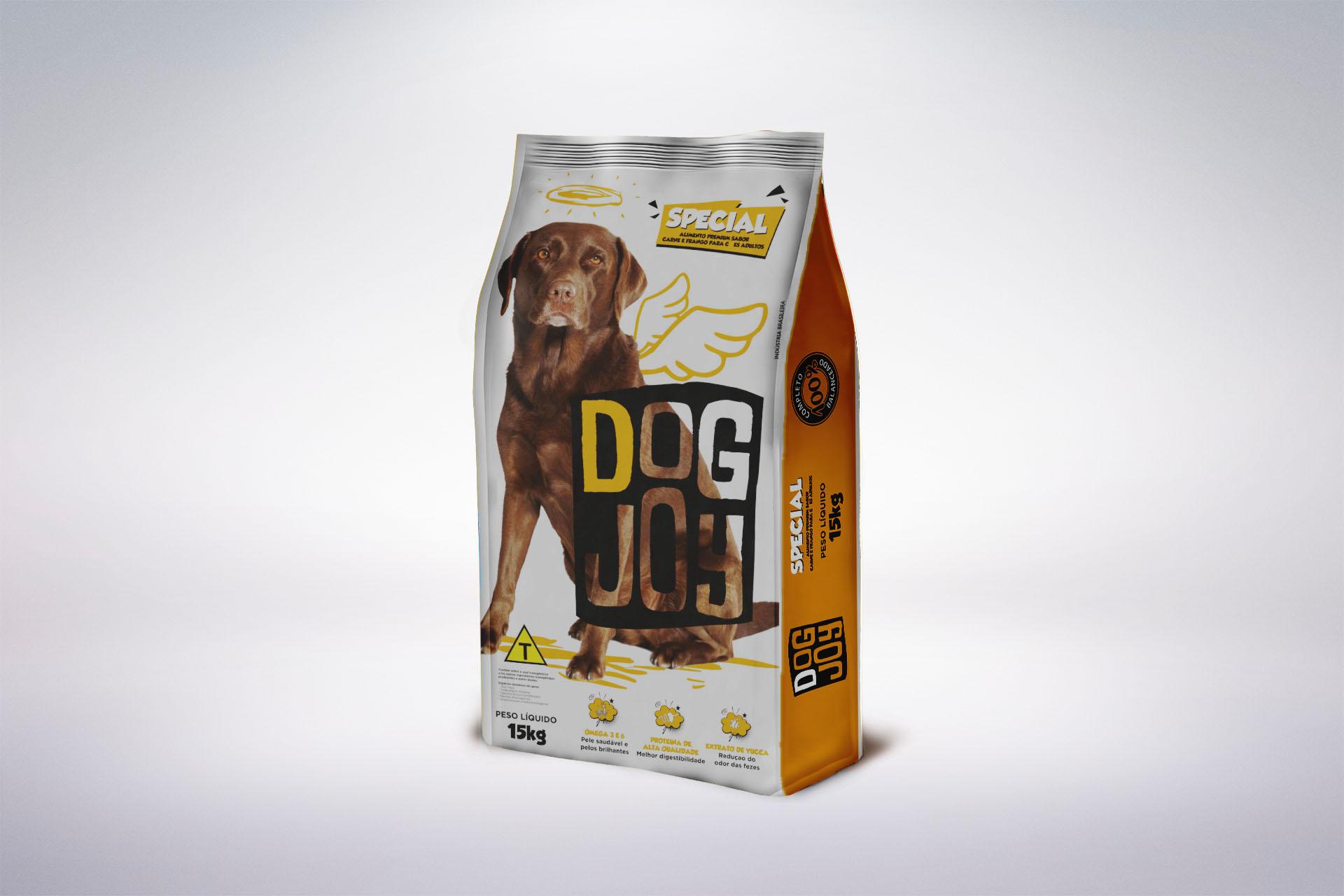 DOG JOY MOCKUP