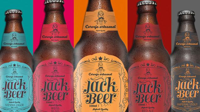 Branding e Identidade de marca - Jack Beer