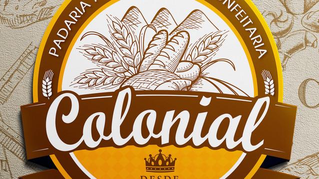 Branding e identidade de marca - Padaria Colonial