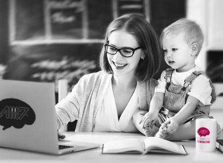 """""""Ser Mãe empreendedora, é fazer da maternidade, a inspiração para progredir a cada dia"""""""