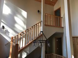 Alternate View of Custom Staircase