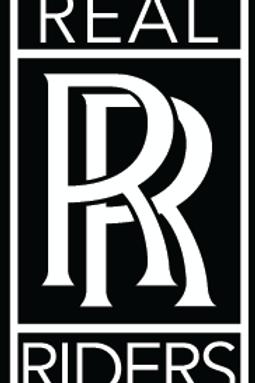 Adesivo Real Riders 6cm x 11cm