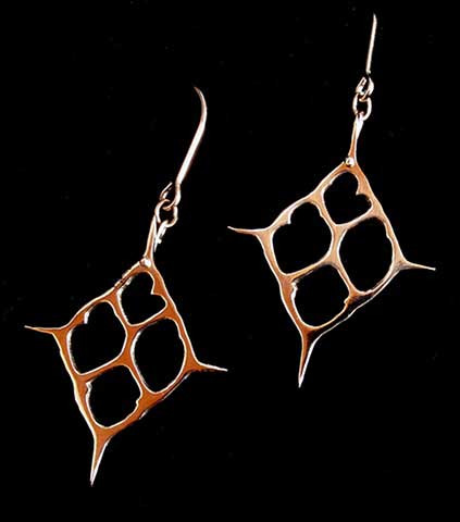 Small Silica Shard earrings