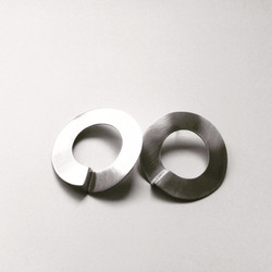 'The Void' earrings