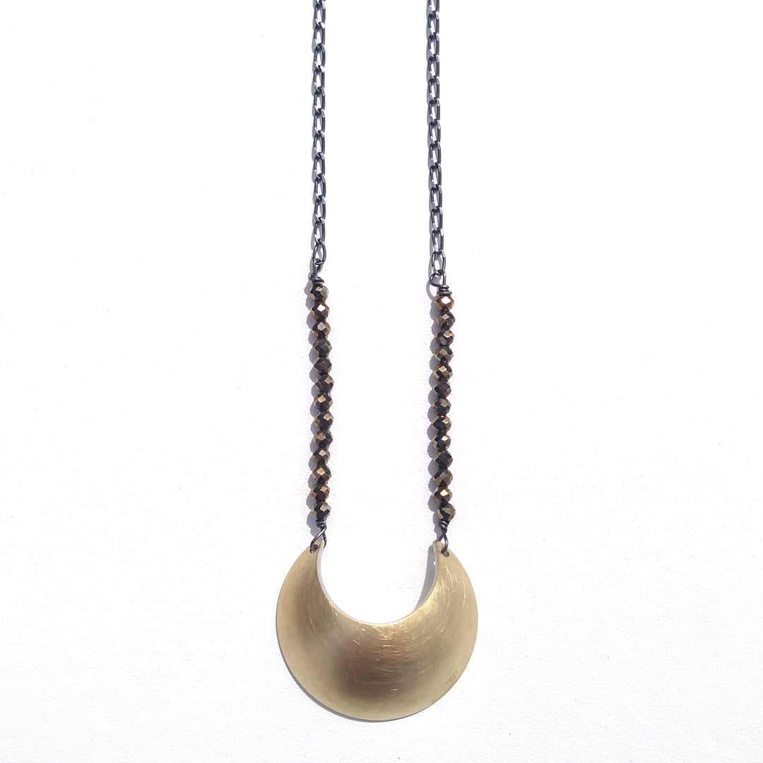 Gold Luna Necklace
