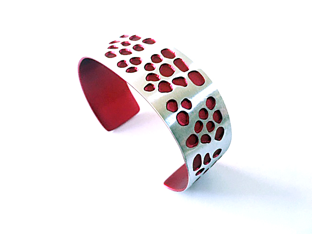 Aluma Cuff Narrow Red