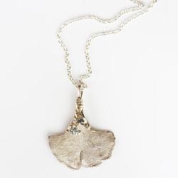 Gingko pendant