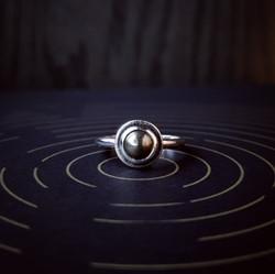 Pyrite Prescience Ring