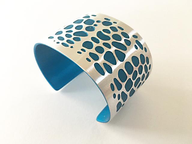 Aluma Cuff Wide Turquoise