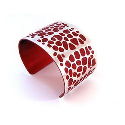 Aluma Cuff Wide Red