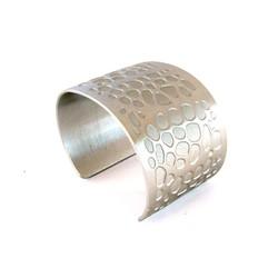 Aluma Cuff Wide Silver