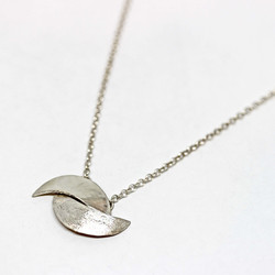 Nesting moon necklace