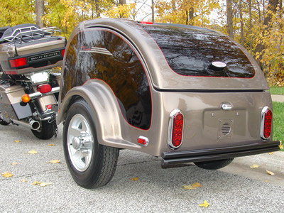 Ion Motorcycle Cargo Trailers
