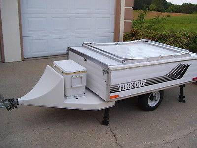 Time Out Deluxe Motorcycle Campers