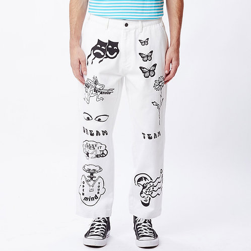OBEY Hardwork Printed Pant