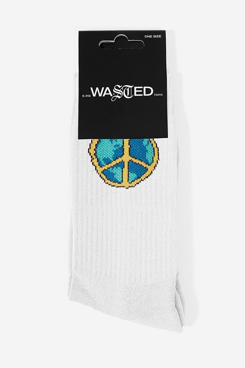 WASTED  ANOTHE WORLD Socks