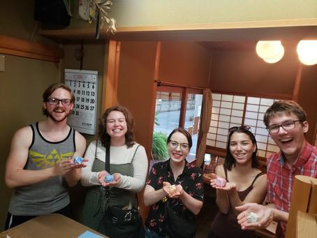 アメリカからの留学生Last day in KYOTO