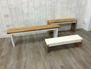 ちょっと可愛いベンチ