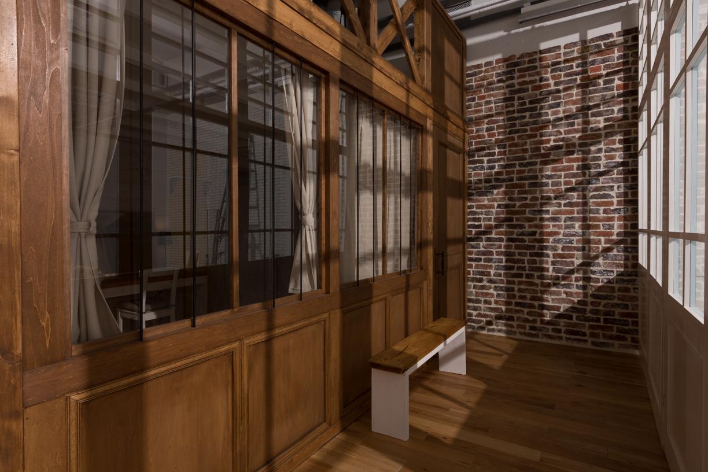 可動扉からの採光イメージ