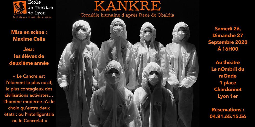 """""""KANKRE""""       Spectacle fin d'année 19-20      Élèves 2ème année"""
