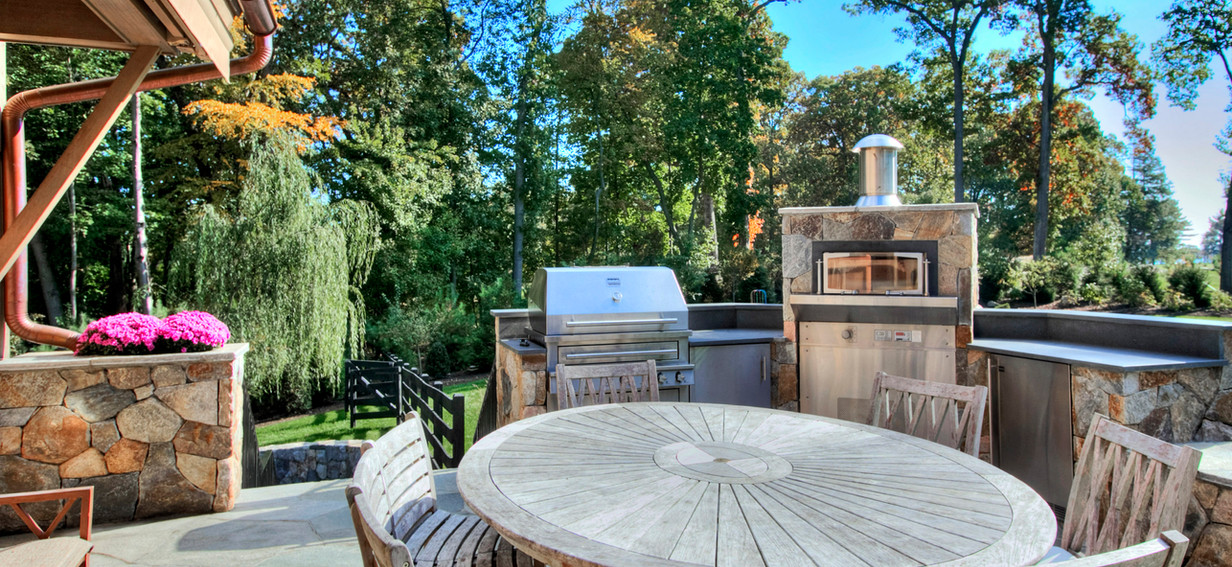 Luxe Industrial Farmhouse Outdoor Dining