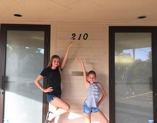 Taylor and Sydney in Hillsboro Dance Center  210 SE 4th Ave  Hillsboro, OR 97123