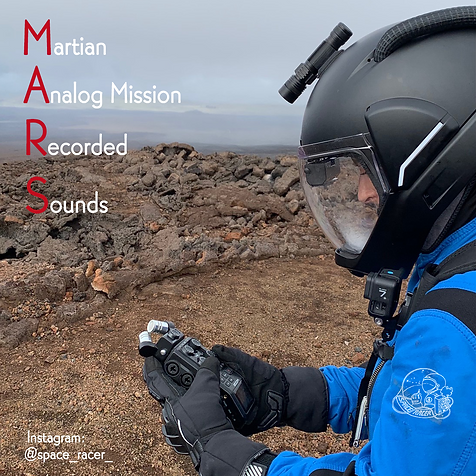 Martian Analog Mission Recorded Sounds -