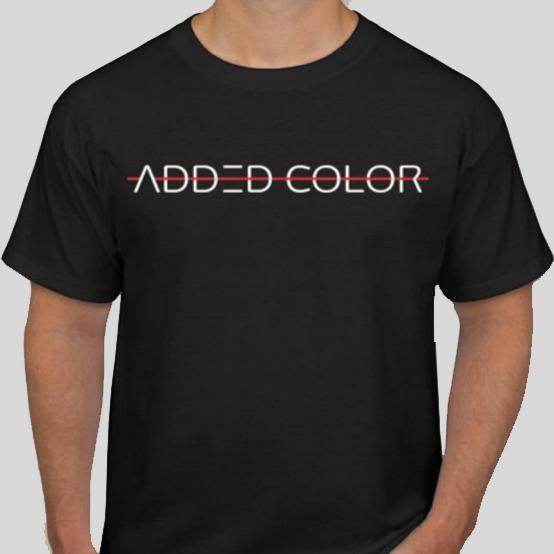 Added Color Font T-shirt