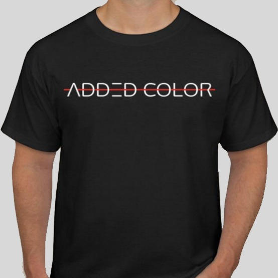 Added Color Font T-shirt