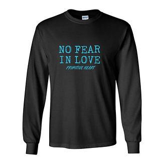 No Fear In Love Love Sleeve Shirt.JPEG