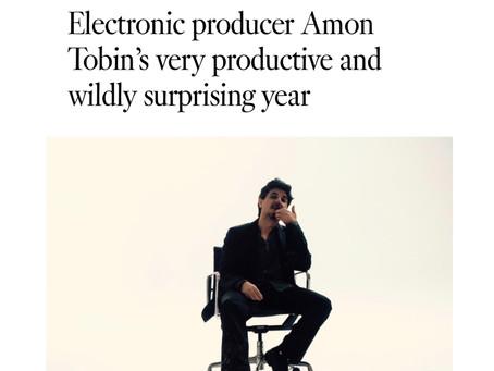 Amon Tobin featured in LA Times