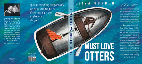 Must Love Otters Book Jacket