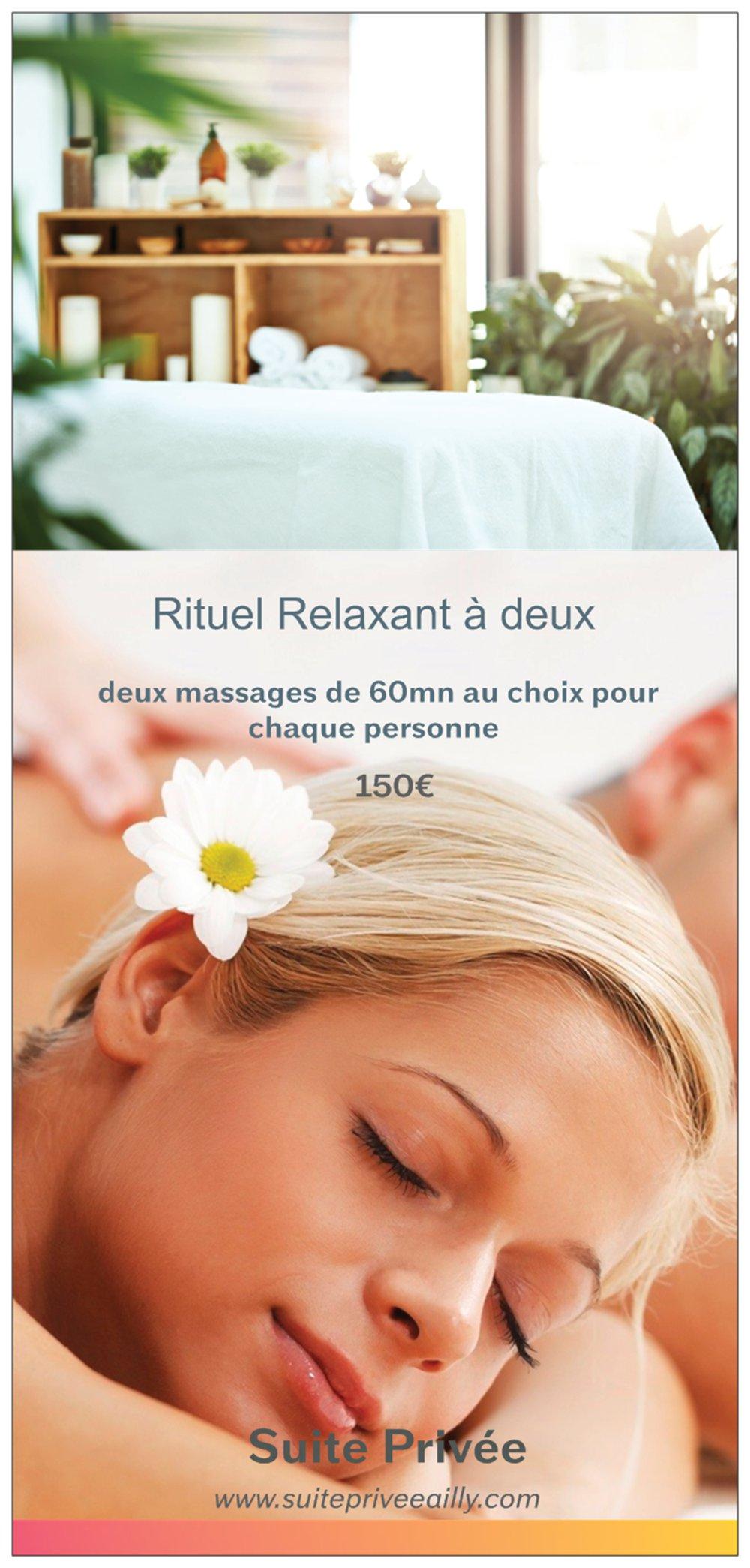 Massage 60 minutes ( deux personne )