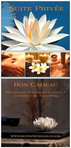 carte cadeau Suite Privée Ailly