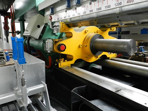 The extrusion press - wire making