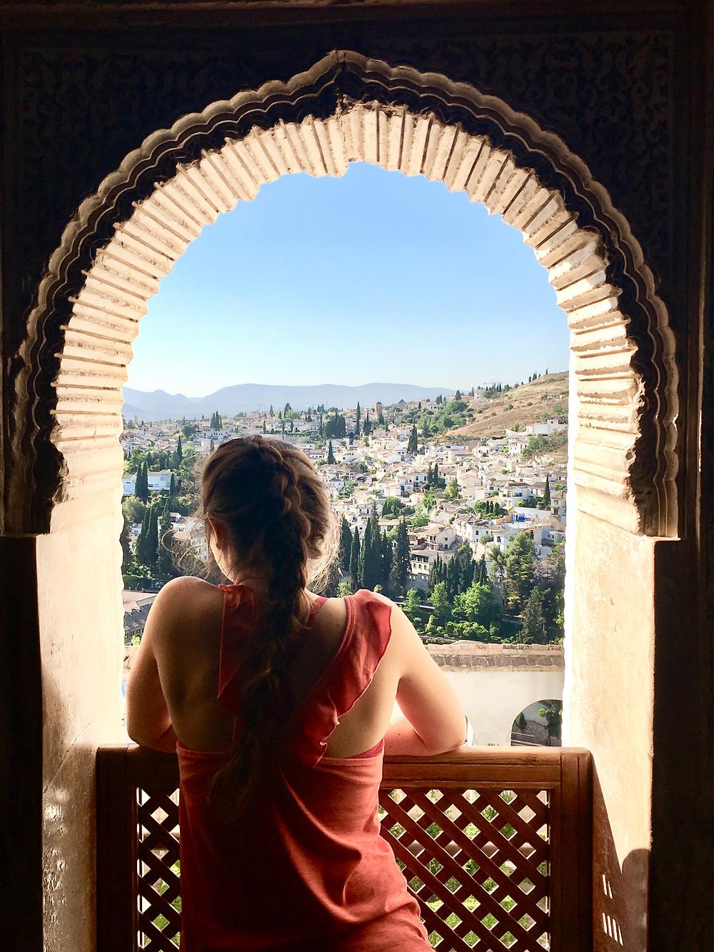 Artist Lacy Rueff's travels in Spain.