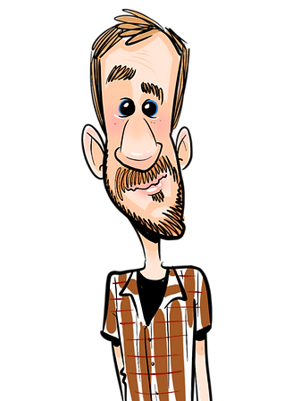 Bobby Morris Digital Caricature