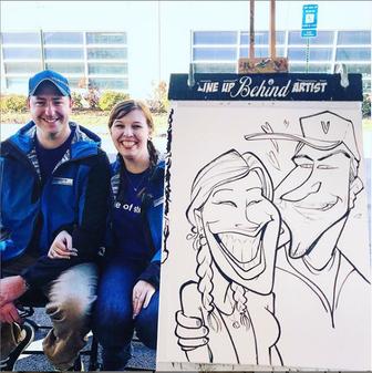 Bobby Morris Caricature Artist Atlanta