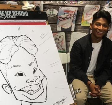 Bobby Morris Atlanta Caricature Artist