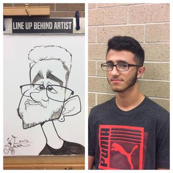 AJ Jensen Caricature Artist