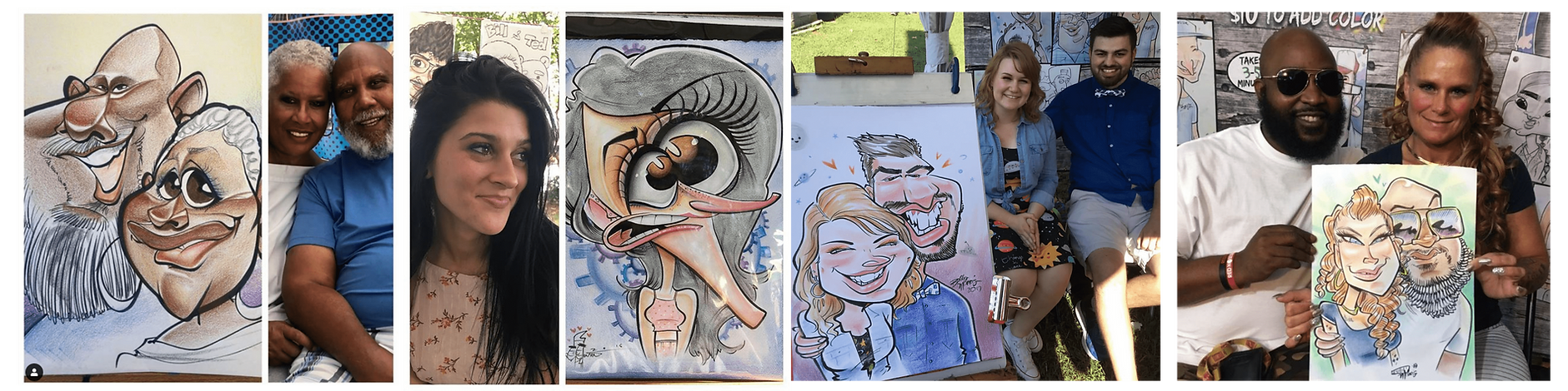 ToonHeadz Caricature Samples