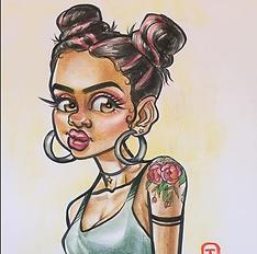 Erica Caricature