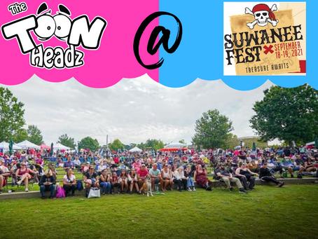 The ToonHeadz at Suwanee Fest 2021