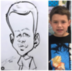 Destin Andrews Caricature Artist Atlanta