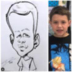 Destin Andrews Caricature Artist Atlanta