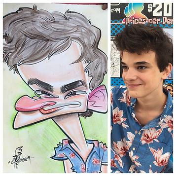 AJ Jensen Atlanta Caricature Artist