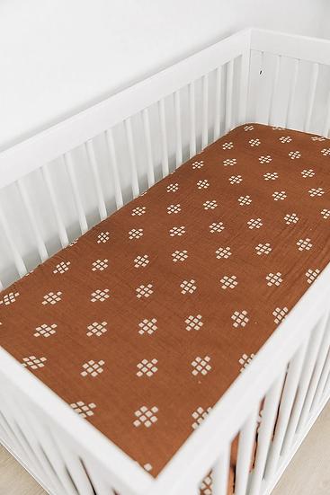 Chestnut Textiles Muslin Crib Sheet