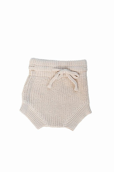 Knit Bloomers Cream